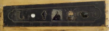 ממורביליה, טכניקה מעורבת, אמברוטייפ, חלק של פסנתר ואובייקטים רלוונטיים, 1990